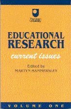 Educational Research Volume One: Current Issues 9781853962431