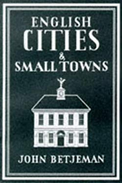 English Cities and Small Towns (WB) 9781853752513