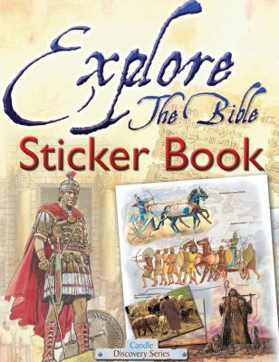 Explore the Bible Sticker Book 9781859858189