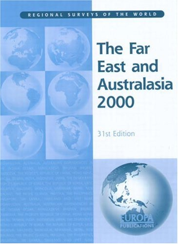 Far East and Australasia 2000 9781857430622