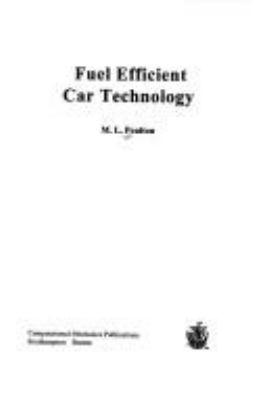 Fuel Efficient Car Technology 9781853124471