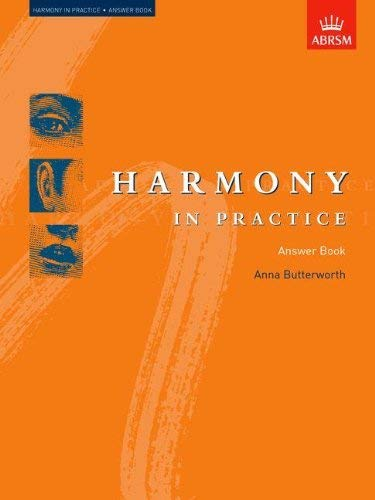 Harmony in Practice: Answer Book 9781854729927