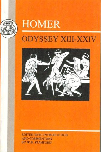 Homer: Odyssey XIII - XXIV 9781853995125
