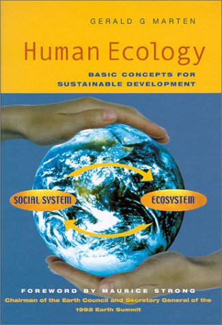Human Ecology: Basic Concepts for Sustainable Development 9781853837142