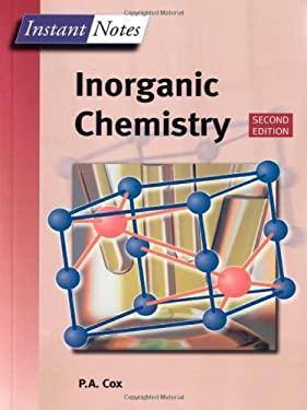 Instant Notes Inorganic Chemistry 9781859962893