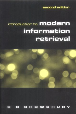 Introduction to Modern Information Retrieval, Second Edition 9781856044806
