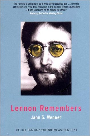 Lennon Remembers: The Full Rolling Stone Interviews from 1970 9781859843765