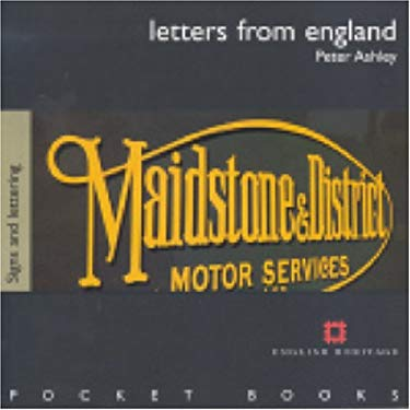 Letters from England: Signs and Lettering 9781850749127