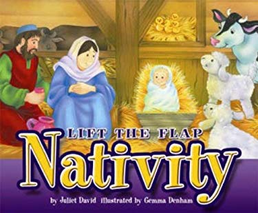 Lift the Flap Nativity 9781859856840