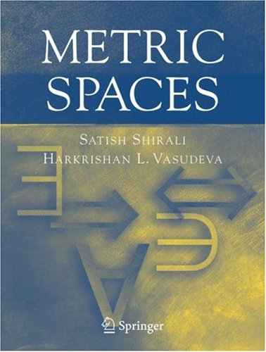 Metric Spaces 9781852339227