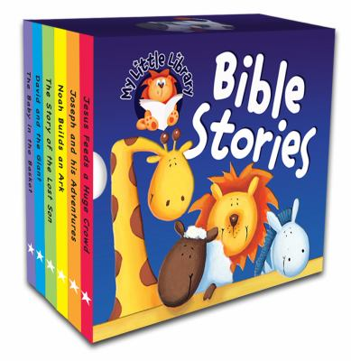 My Little Library Bible Stories 9781859852255
