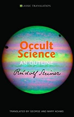 Occult Science: An Outline 9781855841369