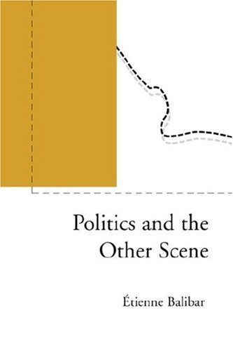 Politics and the Other Scene Politics and the Other Scene 9781859842676