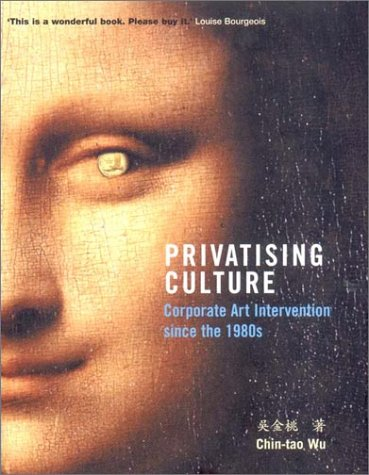Privatising Culture: Corporate Art Intervention Since the 1980s 9781859846131