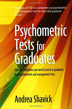 Psychometric Tests for Graduates 9781857039115