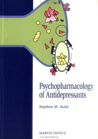 Psychopharmacology of Antidepressants 9781853175138