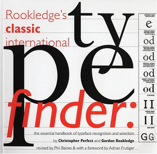 Rookledge's Classic International Typefinder 9781856694063