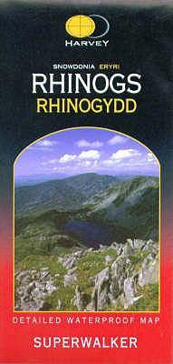 Snowdonia Rhinogs 9781851374717