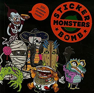 Stickerbomb Monsters 9781856698955
