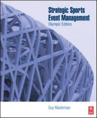Strategic Sports Event Management 9781856175234