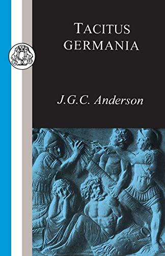 Tacitus: Germania 9781853995033