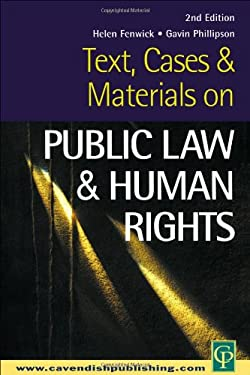 Text, Cases and Materials on Public Law and Human Rights 9781859416556