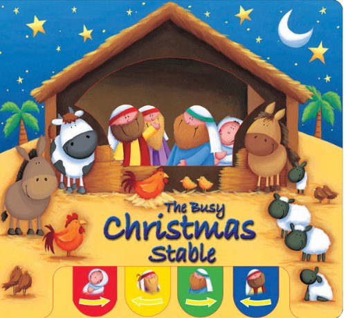 The Busy Christmas Stable 9781859858035