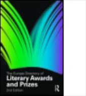 The Europa Directory of Literary Awards and Prizes - Europa Publications / Europa