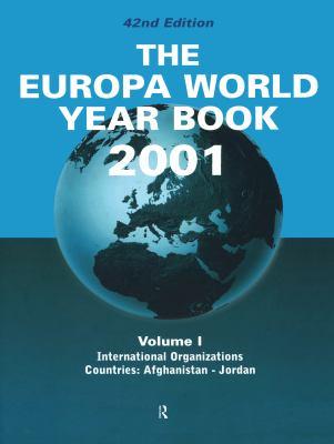 The Europa World Year Book 2001 9781857430981