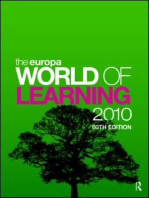 The Europa World of Learning 2 Volume Set 9781857435290