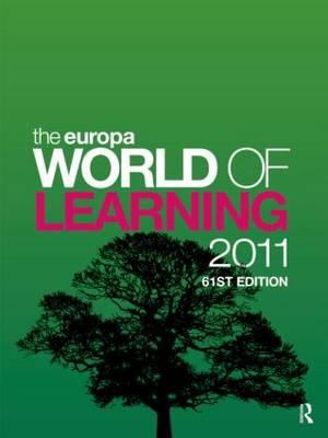 The Europa World of Learning 2011 9781857435672
