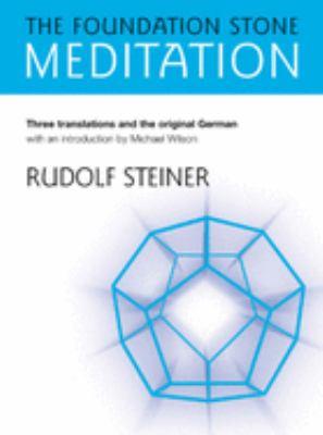 The Foundation Stone Meditation 9781855841734