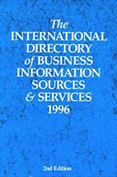 The International Directory of Business Information Sources and Services 1996