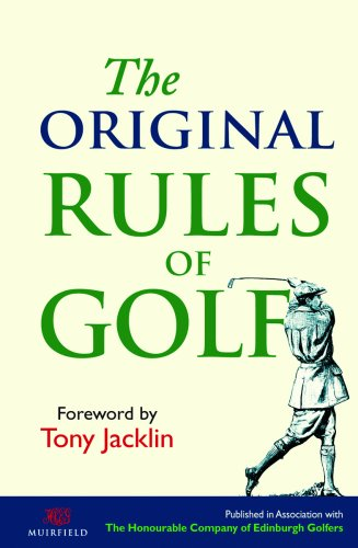 The Original Rules of Golf 9781851243426