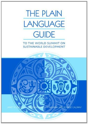 The Plain Language Guide to World Summit on Sustainable Development 9781853839283