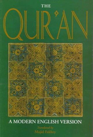 The Qur'an: A Modern English Version 9781859640869