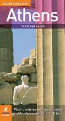 The Rough Guide to Athens Map 2 9781858287171