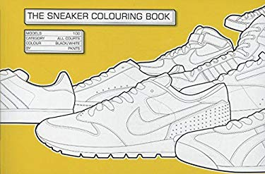 The Sneaker Coloring Book 9781856696678