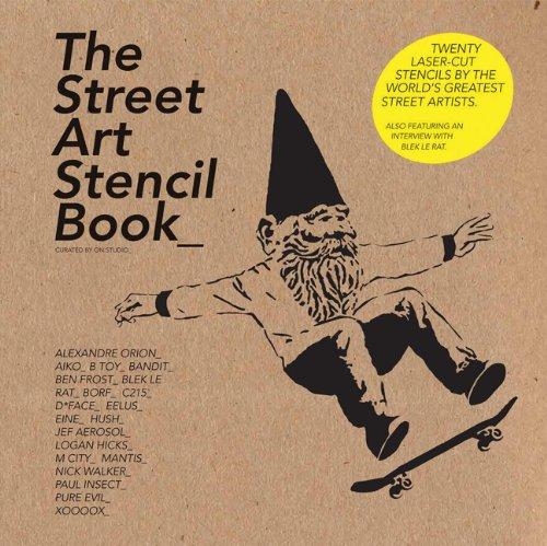 The Street Art Stencil Book 9781856697019