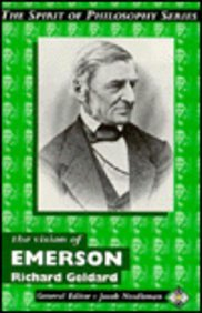 The Vision of Emerson: The Element Masters of Philosophy 9781852306267