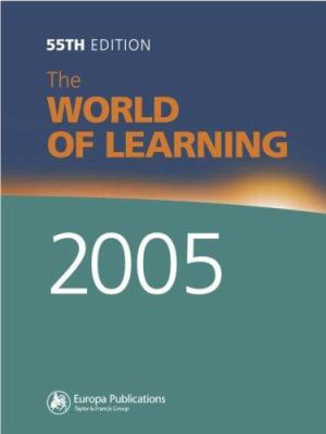 The World of Learning 2005 9781857432596