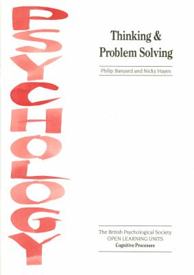 Thinking and Problem Solving 9781854330499