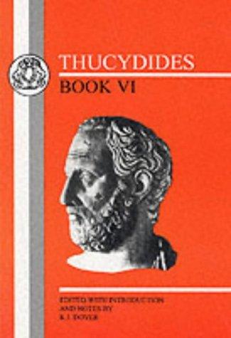 Thucydides: Book VI 9781853995873