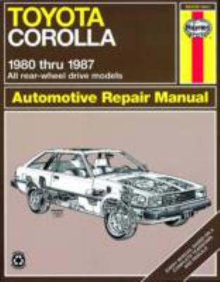 Toyota Corolla, 1980-1987 9781850106326