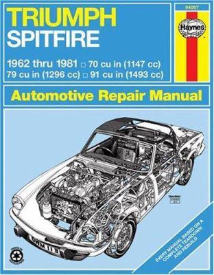 Triumph Spitfire, 1962-1981 9781850100225