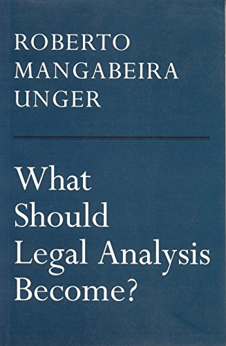 What Should Legal Analysis Become? 9781859841006