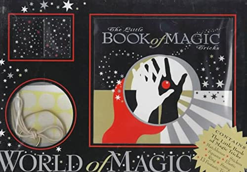 World of Magic Gift Box [With * and 4 Matchboxes, Elastic Band, Ring, String] 9781858338507