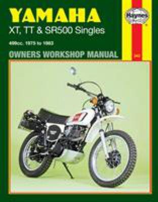 Yamaha singles xt tt sr