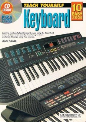 10 Easy Lessons Keyboard Bk/CD 9781864691092