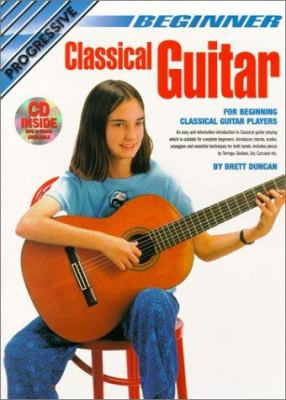 Beginner Classical Guitar 9781864692013